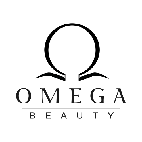 omega beauty logo black